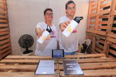 Projeto da Escola Izaura Antônia de Lisboa de inseticida de louro foi apresentado na Experiment-AL
