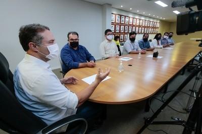 Anúncio foi feito pelo governador por meio de transmissão online